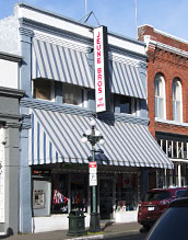 awnings on storefront